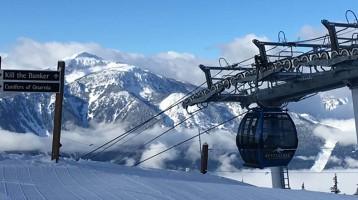 A Canadian spring skiing safari