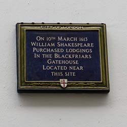 Shakespeare ©Hilary Nangle