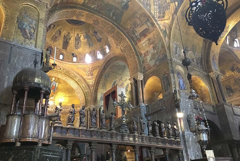 Churches in Venice ©Charles Leocha