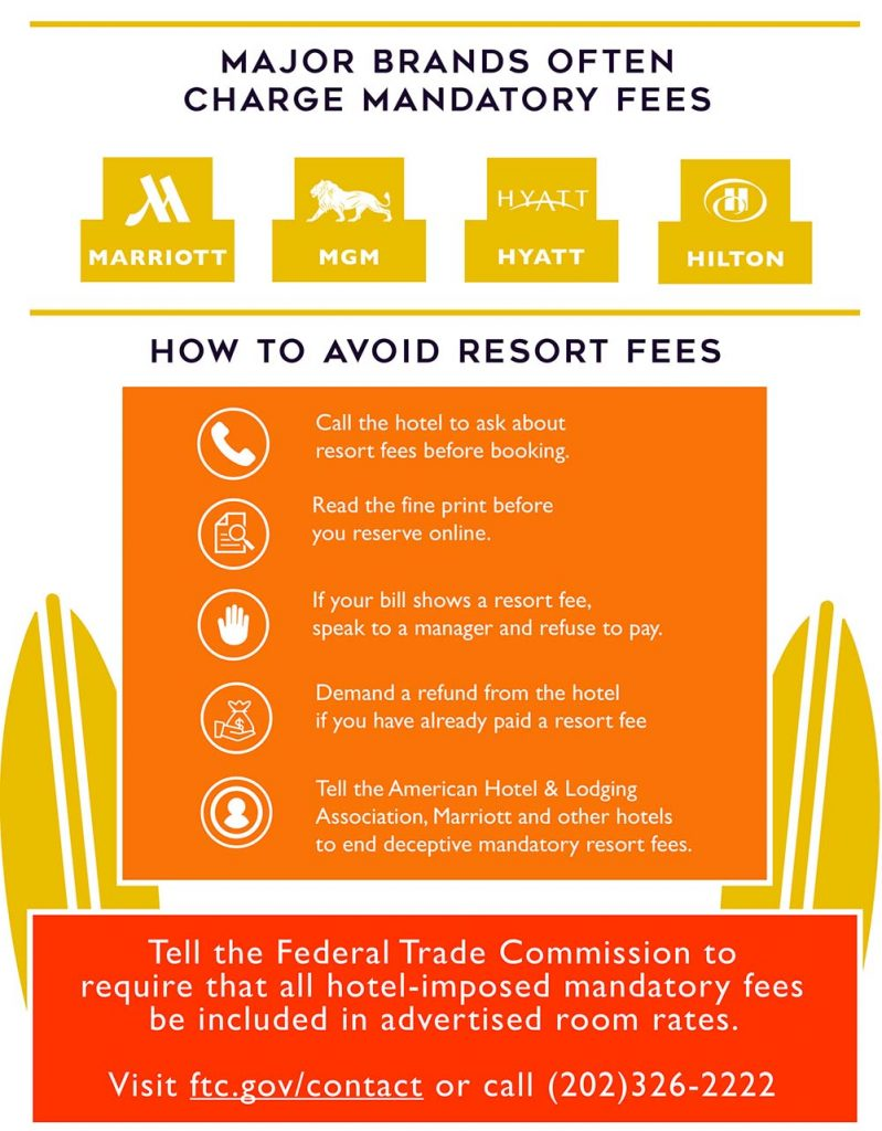 hotel resort fees