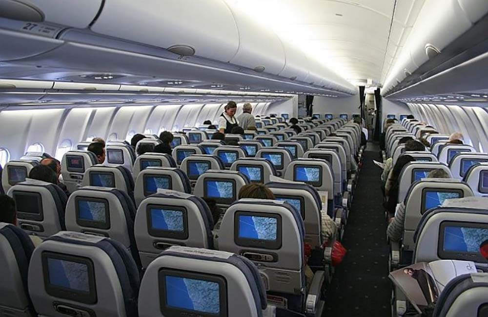 seating, meals and other considerations plane