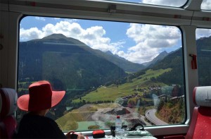 Switzerland best by train
