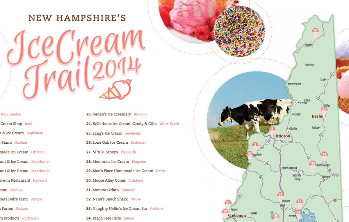 Tasty food trails across America